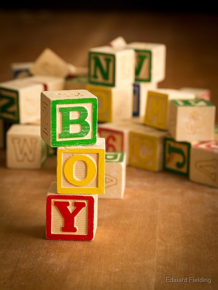 Its a boy by Edward Fielding