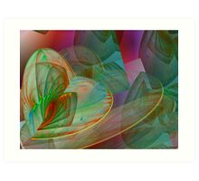 All my hearts Art Print