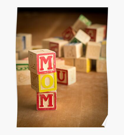 Mothers Day Card Poster