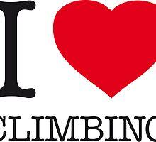 I ♥ CLIMBING by eyesblau