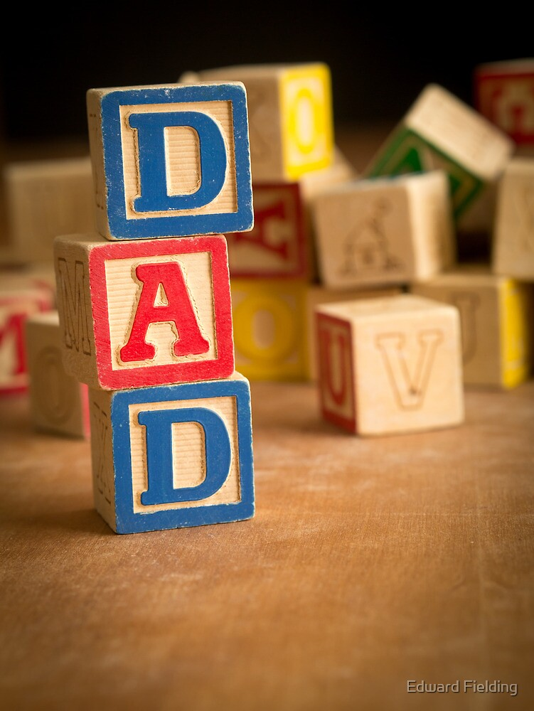 Father's Day Card by Edward Fielding