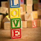LOVE - Valentines Day Card by Edward Fielding