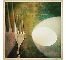 Fork Photographic Print