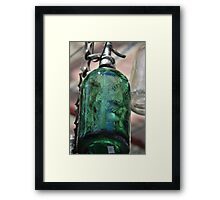 Hanging Soda Framed Print