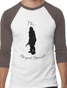 Fili bff shirt Men's Baseball ¾ T-Shirt