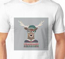Hipster Deer Unisex T-Shirt