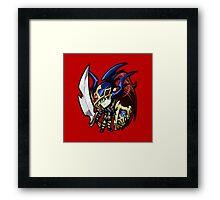 Black Luster Soldier Icon - Yugioh! Framed Print