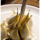Tasty Garlic... by Jörg Holtermann