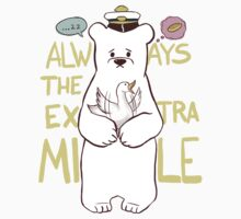 Always The Extra Mile - Dark Ver. T-Shirt