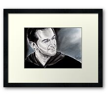 Richard Armitage, smiling eyes Framed Print