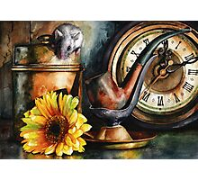 As Time Goes By Photographic Print