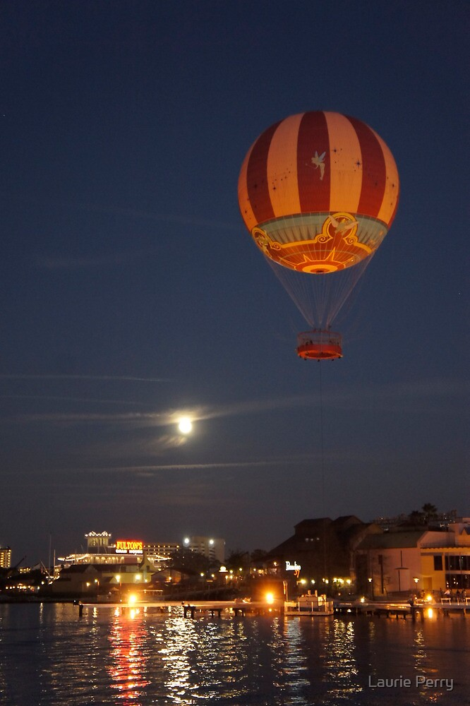 Soaring at Night by Laurie Perry