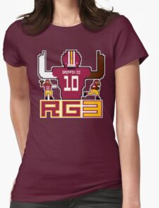 RG3 Tecmo style! Womens Fitted T-Shirt