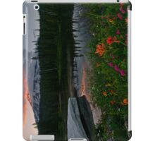 Mount Rainier Summer iPad Case/Skin