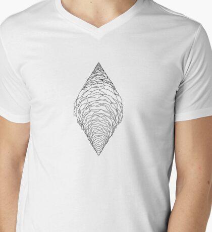 spline cone Mens V-Neck T-Shirt
