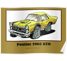 Pontiac 1965 GTO - Muscle Car Poster