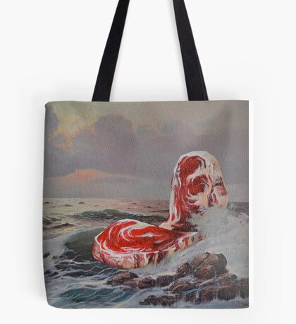 Point Steak Tote Bag