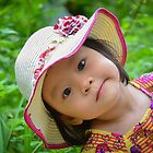 smiling child by levucuong