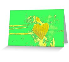 Spring-in-Love-Heart Greeting Card