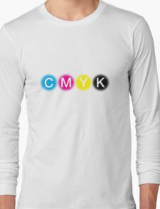 CMYK 1 Long Sleeve T-Shirt