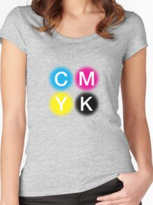 CMYK 2 Women's Fitted Scoop T-Shirt