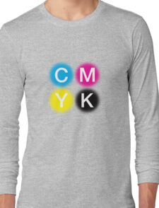 CMYK 2 Long Sleeve T-Shirt