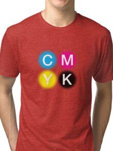 CMYK 2 Tri-blend T-Shirt