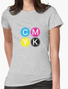 CMYK 2 Womens Fitted T-Shirt