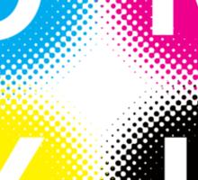 CMYK 2 Sticker