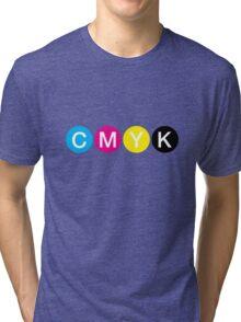 CMYK 3 Tri-blend T-Shirt