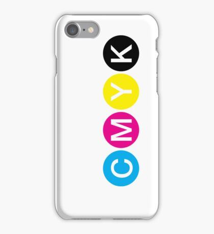 CMYK 3 iPhone Case/Skin