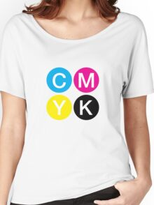 CMYK 4 Women's Relaxed Fit T-Shirt
