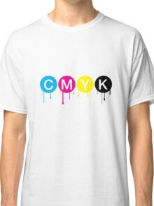 CMYK 5 Classic T-Shirt