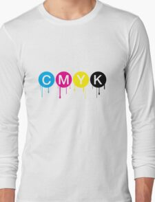 CMYK 5 Long Sleeve T-Shirt