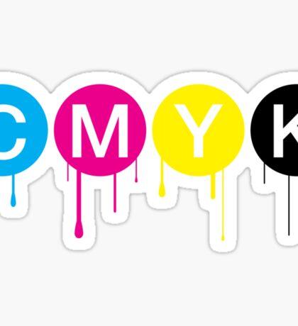 CMYK 5 Sticker
