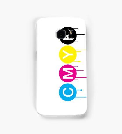 CMYK 5 Samsung Galaxy Case/Skin