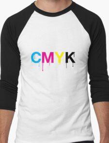 CMYK 6 Men's Baseball ¾ T-Shirt