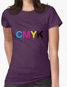 CMYK 6 Womens Fitted T-Shirt