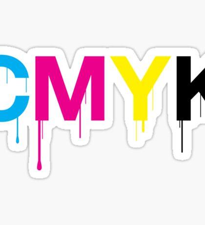 CMYK 6 Sticker
