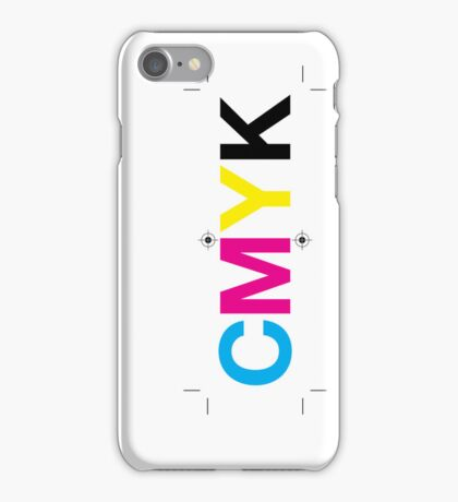 CMYK 7 iPhone Case/Skin