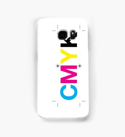 CMYK 7 Samsung Galaxy Case/Skin