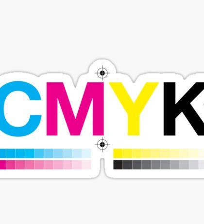 CMYK 8 Sticker