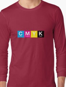 CMYK 9 Long Sleeve T-Shirt