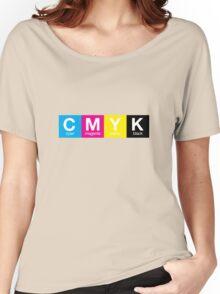 CMYK 9 Women's Relaxed Fit T-Shirt