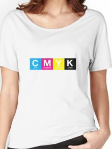 CMYK 9 Women's Relaxed Fit T-Shirt
