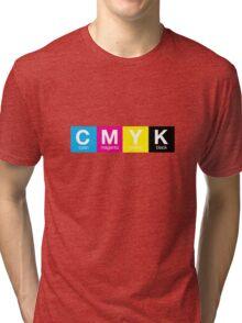 CMYK 9 Tri-blend T-Shirt