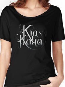 Kia Kaha Women's Relaxed Fit T-Shirt