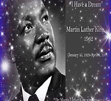 Dr. Martin Luther King....Tribute Print by grittynitty