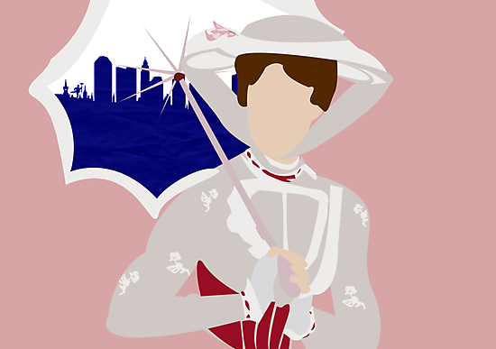 Mary Poppins #2 by Jessica Slater