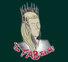 Thranduil's Too Fab For You by soullesskisser